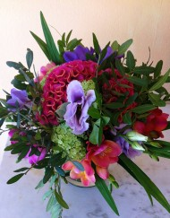 Bouquet_célosie_lisanthus