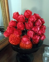 Bouquet de rose rouge