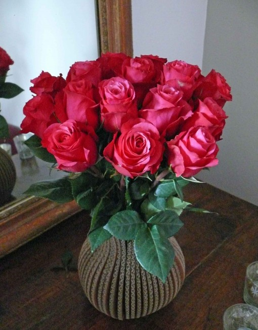Bouquet de rose rouge_2