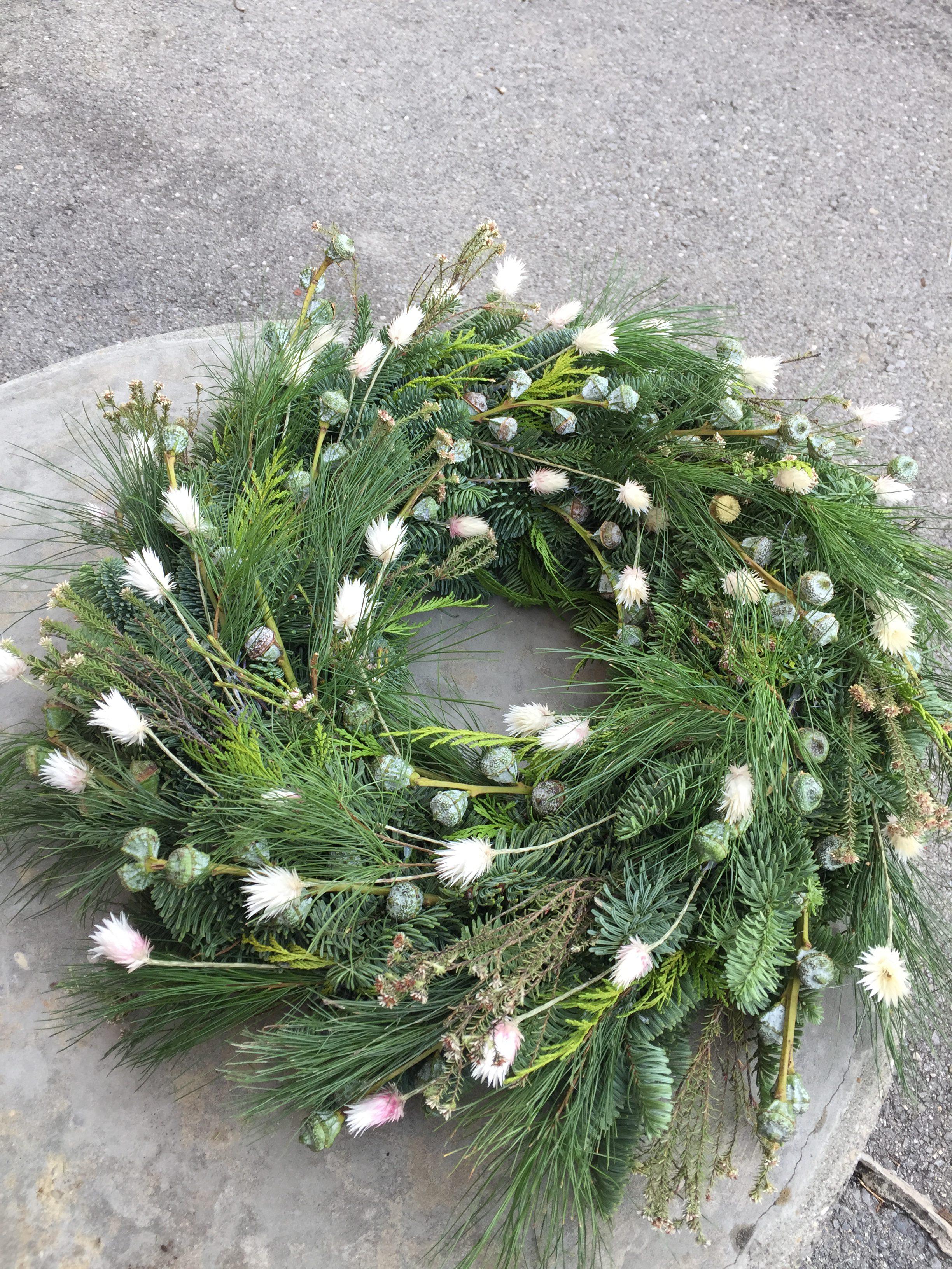 Couronne De Porte Noel Design couronne de porte - floral design